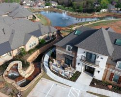 50+ Senior Gated Retirement Community in Edmond, north of Oklahoma City